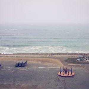 The Pacific Ocean, Lima, 2017. / L'océan pacifique, Lima, 2017.