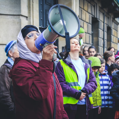 Cambridge for refugees, demonstration