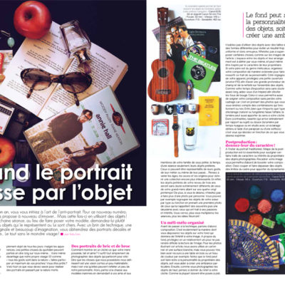 Publication in the French photography magazine Phototech (images + text)