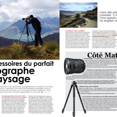 """Landscape photography accessories"", Phototech n°31, April/May 2014"