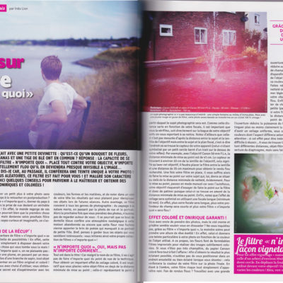 """Making your own filter"", Phototech n°28, October/November 2013"